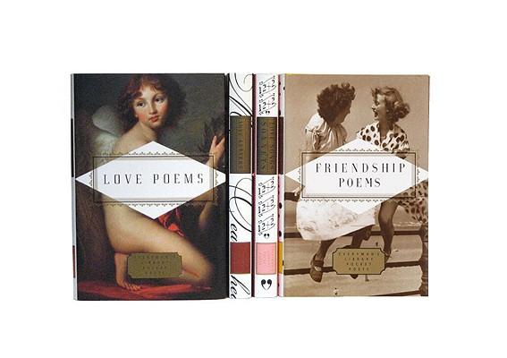 Pocket Poets: Love & Friendship: Friendship Poems; Love Letters; Love Poems; Love Songs and Sonnets Cover Image