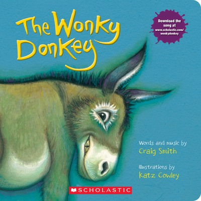 The Wonky Donkey: A Board Book Cover Image