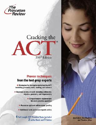 Cracking the ACT, 2007 Edition Cover Image