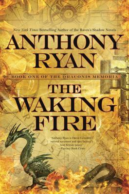 The Waking Fire (The Draconis Memoria #1) Cover Image