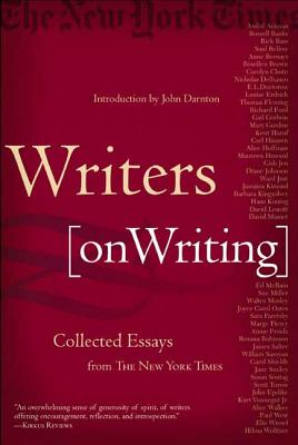 Cover for Writers on Writing