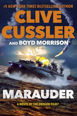 Marauder (The Oregon Files #15) Cover Image