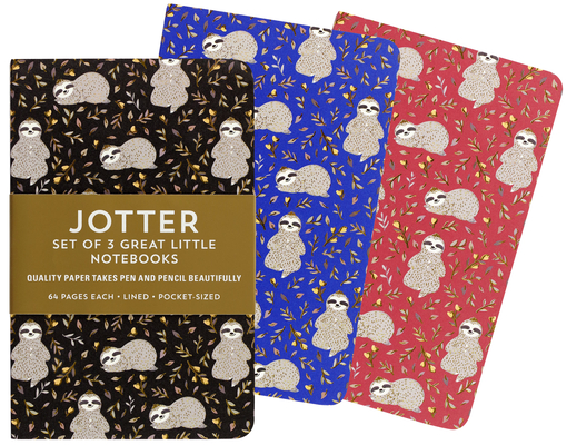 Sloths Jotter Notebooks Cover Image