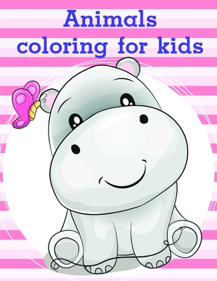 Animals Coloring For Kids Super Cute Kawaii Animals Coloring Pages Nature Kids 6 Paperback The Book Table