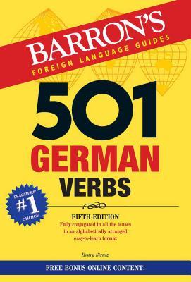 501 German Verbs (Barron's 501 Verbs) Cover Image