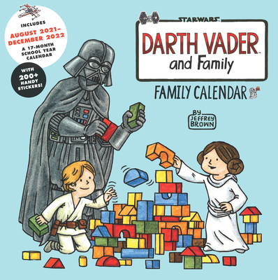 Star Wars Darth Vader and Family 2022 Wall Calendar Cover Image
