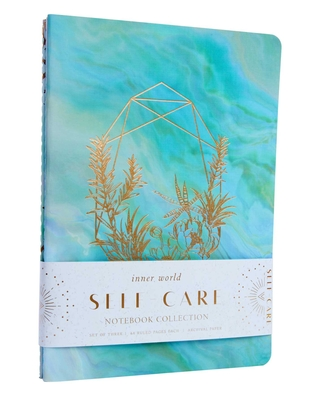 Self-Care Sewn Notebook Collection (Set of 3) (Inner World) Cover Image