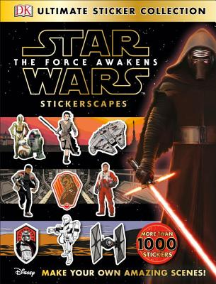 Star Wars: The Force Awakens Stickerscapes (Ultimate Sticker Collections) Cover Image