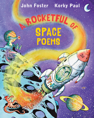A Rocketful of Space Poems Cover Image