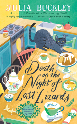 Death on the Night of Lost Lizards (A HUNGARIAN TEA HOUSE MYSTERY #3) Cover Image