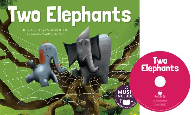 Two Elephants (Sing-Along Math Songs) Cover Image