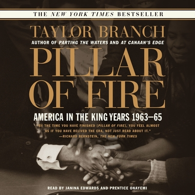Pillar of Fire: America in the King Years, 1963-65 Cover Image