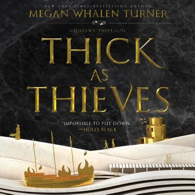 Thick as Thieves Lib/E: A Queen's Thief Novel Cover Image