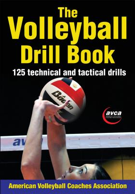 The Volleyball Drill Book Cover Image
