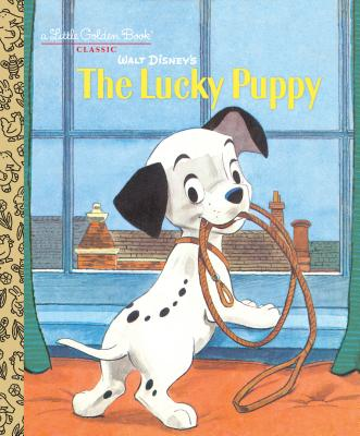 Walt Disney's The Lucky Puppy (Disney Classic) (Little Golden Book) Cover Image