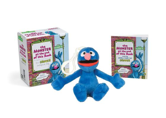 Sesame Street: The Monster at the End of this Book: Includes Illustrated Book and Grover Backpack Clip (RP Minis) Cover Image