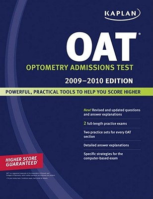 Kaplan OAT, 2009-2010 Edition Cover Image