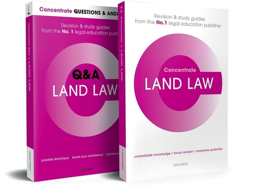 Land Law Revision Concentrate Pack: Law Revision and Study Guide Cover Image
