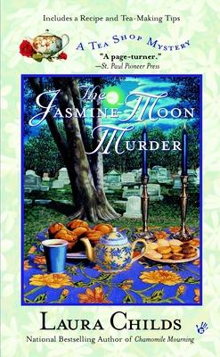 The Jasmine Moon Murder (A Tea Shop Mystery #5) Cover Image
