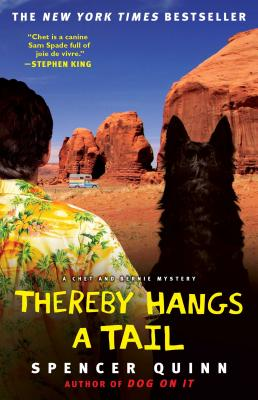 Thereby Hangs a Tail: A Chet and Bernie Mystery (The Chet and Bernie Mystery Series #2) Cover Image
