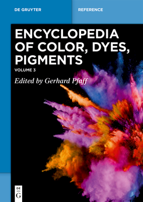 Mixed Metal Oxide Pigments - Zinc Sulfide Pigments (de Gruyter Reference) Cover Image
