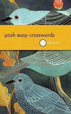 Cover for Posh Easy Crosswords