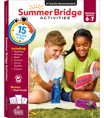 Summer Bridge Activities, Grades 6 - 7 Cover Image