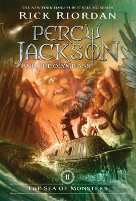 Percy Jackson and the Olympians, Book Two The Sea of Monsters (Percy Jackson & the Olympians #2) Cover Image
