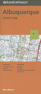 Albuquerque Street Map Cover Image