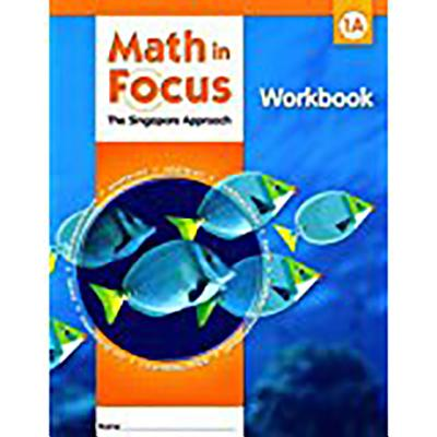 Student Workbook, Book a Grade 1 (Math in Focus: Singapore Math) Cover Image