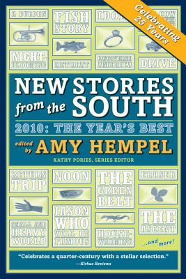 Cover for New Stories from the South 2010