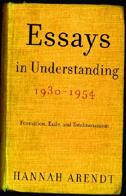 Essays in Understanding, 1930-1954 Cover