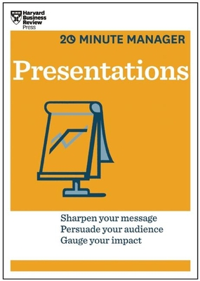 Presentations (HBR 20-Minute Manager Series) (20 Minute Manager) Cover Image
