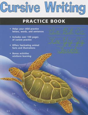 Cursive Writing Practice Book (Flash Kids Harcourt Family Learning) Cover Image