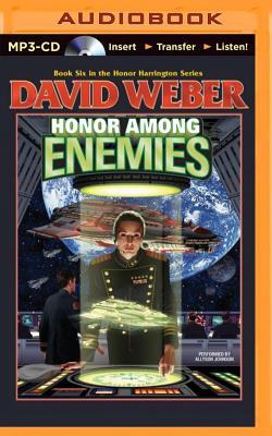 Honor Among Enemies (Honor Harrington (Audio) #6) Cover Image