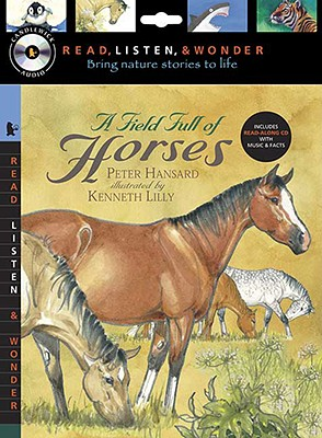 A Field Full of Horses [With Paperback Book] Cover