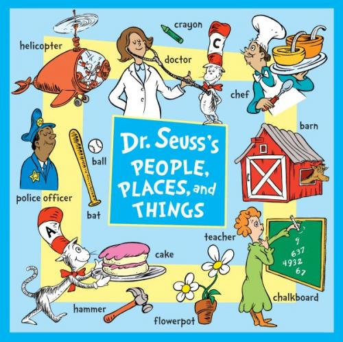 Dr. Seuss's People, Places, and Things Cover Image
