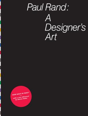 Paul Rand: A Designer's Art Cover Image