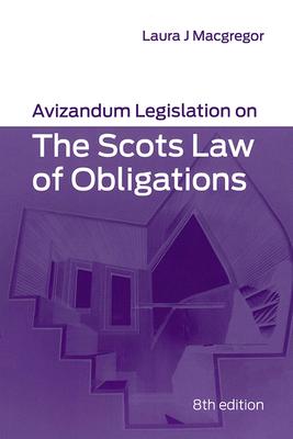 Avizandum Legislation on the Scots Law of Obligations Cover Image