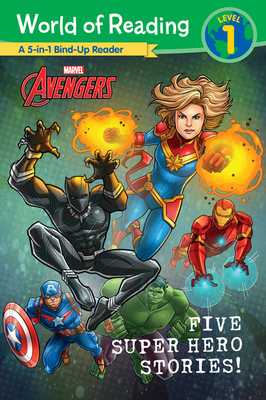 World of Reading: Five Super Hero Stories! Cover Image