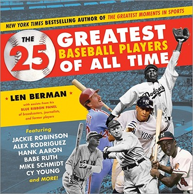 The 25 Greatest Baseball Players of All Time Cover