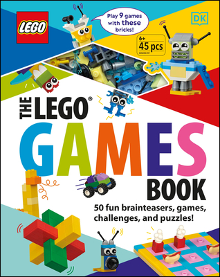The LEGO Games Book: 50 Fun Brainteasers, Games, Challenges, and Puzzles! Cover Image