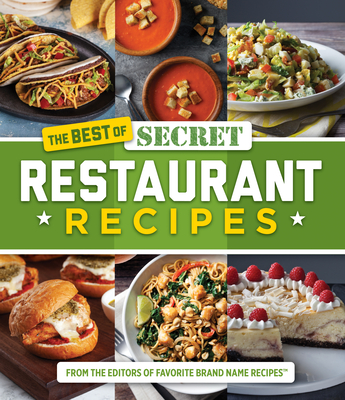 The Best of Secret Restaurant Recipes Cover Image