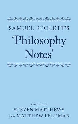 Samuel Beckett's 'philosophy Notes' Cover Image