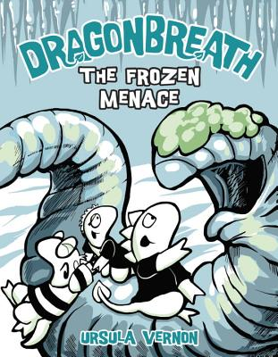 Dragonbreath #11: The Frozen Menace Cover Image