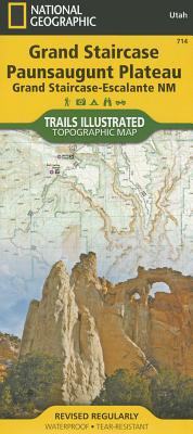 Grand Staircase, Paunsaugunt Plateau [Grand Staircase-Escalante National Monument] (National Geographic Trails Illustrated Map #714) Cover Image