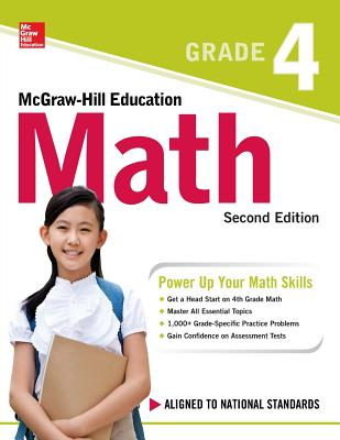 McGraw-Hill Education Math Grade 4, Second Edition Cover Image