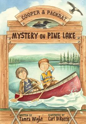 Mystery on Pine Lake Cover