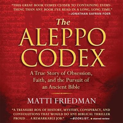 Cover for The Aleppo Codex