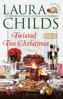 Twisted Tea Christmas (A Tea Shop Mystery #23) Cover Image
